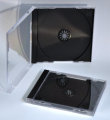 10.2mm Single Jewel CD Case Black (Assembled )