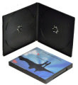 10mm Double PP Short DVD Case (Black)