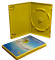 Single DVD Case Yellow (14mm)