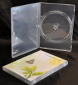 Single DVD case semi-clear (14mm) Budget