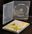 Single DVD case semi-clear (14mm) Auto Pack