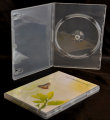 Single DVD case super clear (14mm / 70 gsm) High Quality