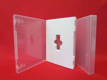 22mm USB Case Super Clear With White Foam