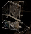 24mm Double Jewel CD Case Clear (Unassembled)