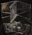 24mm Quadruple CD Case Clear (unassembled)
