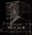 24mm Sextuple CD case Clear (Unassembled)