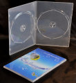Double Ultra Slim DVD Case Super clear (7mm)