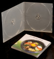 7mm Double PP short DVD case (Semi Clear)
