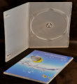 Single Ultra Slim DVD Case Semi-clear (7mm)