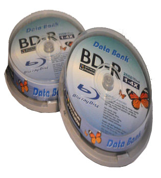 Databank Blu-ray DVD 25GB White Inkjet Printable