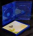Double Blu ray DVD case (12mm)