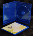 Single Blu ray DVD case (7mm)