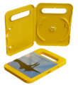 Single TOY DVD case Yellow (14mm)