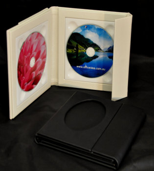 Wedding CD/DVD Case (Double - square frame)