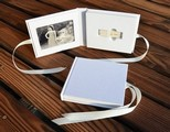 Fabic Wedding USB case (Ivory)